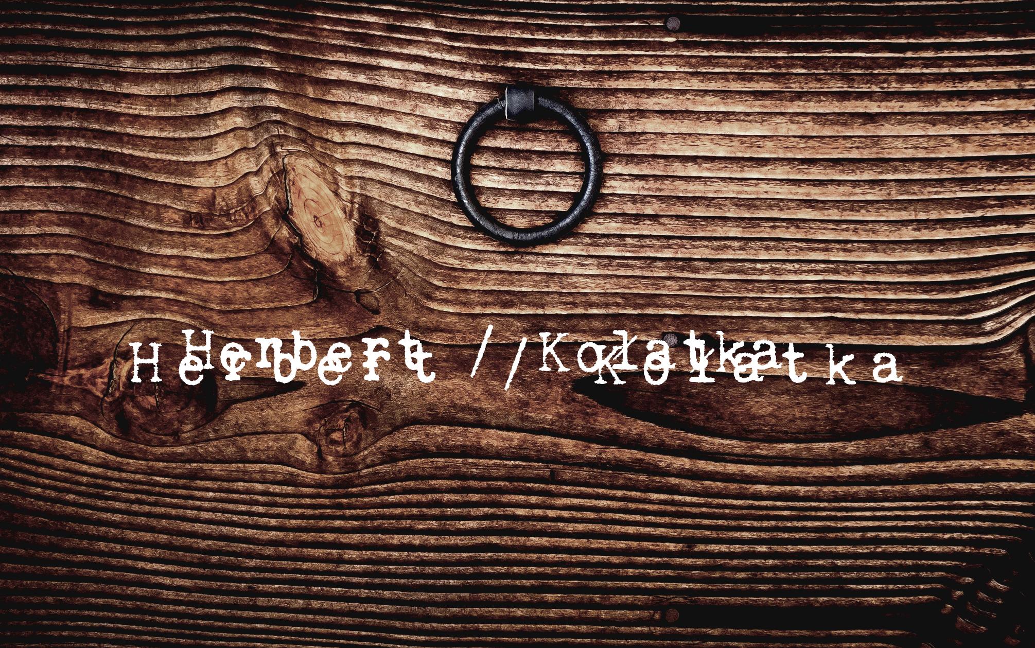 Wiersze Podebrane 11 Kołatka Herbert Statek Głupców